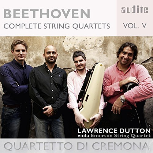 Beethoven Complete String Quartets, Vol. 5.jpg