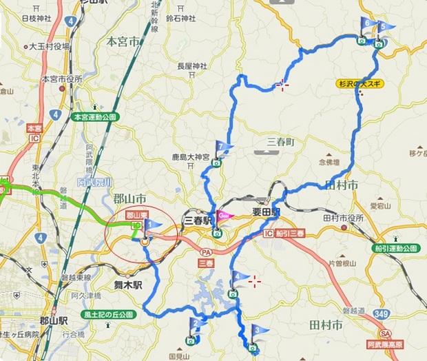 三春の滝桜とその子孫をたずねて_ルートマップ.jpg