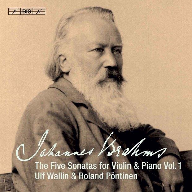 Brahms The Five Sonatas for Violin & Piano, Vol.1.jpg