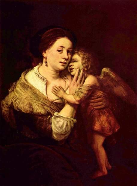 Rembrandt Harmensz. van Rijn, Venus and Cupid.jpg